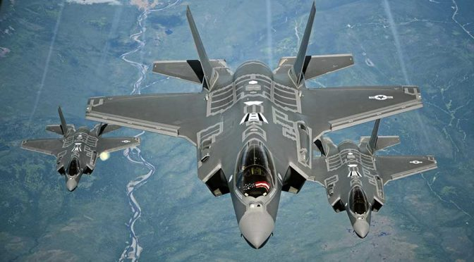Following U.S.M.C., U.S. Air Force Also Declares F-35A Combat Ready