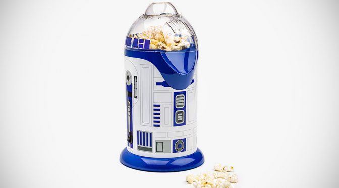 Lovable Astromech R2-D2 Is All Set To Pop Some Healthy Popcorns