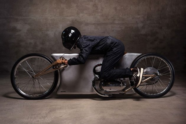 Urban Motor's Jawa Sprint Motorcycle