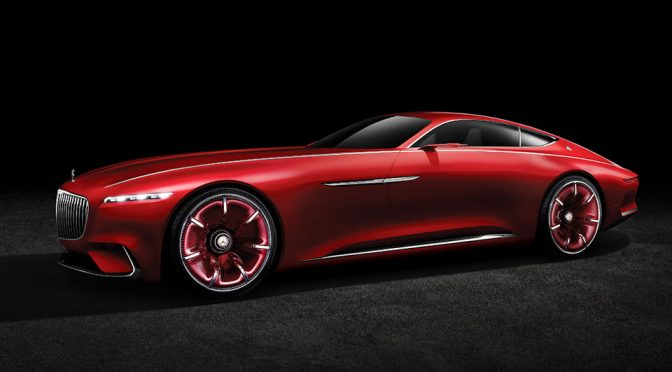 Vision Mercedes-Maybach 6 Concept Luxury Car