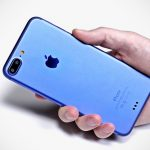 Mock Up Of iPhone 7 Surfaced Dressed In Blue, Sports Curious Contacts