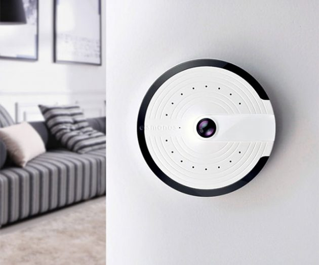 smanos UFO-shaped Panoramic Smart Home Camera
