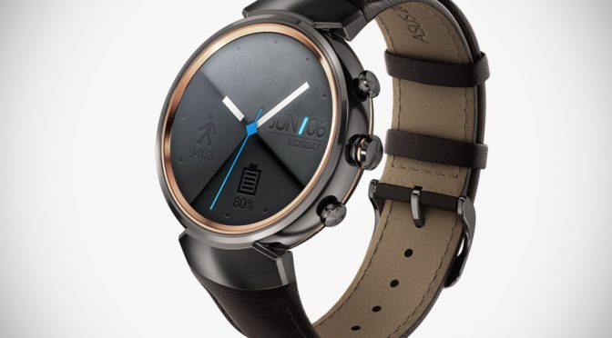 ASUS Goes Classy And Round With The New ZenWatch 3 Smartwatch