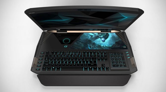 The World's First Curved Screen Laptop Is Upon Us And It Is Monstrous!