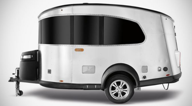 Airstream's Newest Camper Trailer Is Tiny, Needs No Truck To Tow Along