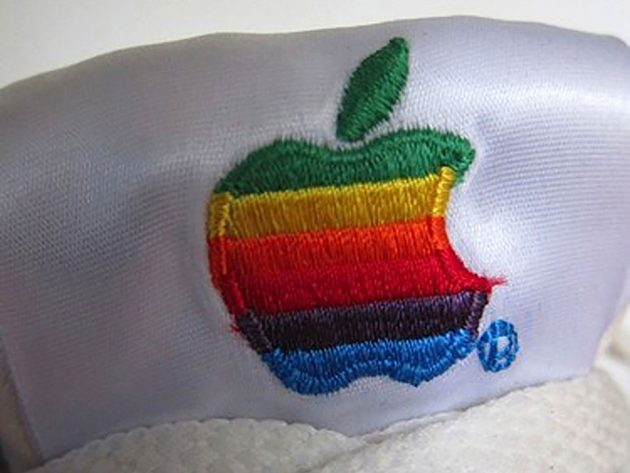 Apple Computer-branded Sneakers From The 1990s