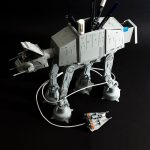 With Bandai AT-AT Desk Tidy, Your USB Cable Is The Snowspeeder's Tow Cable