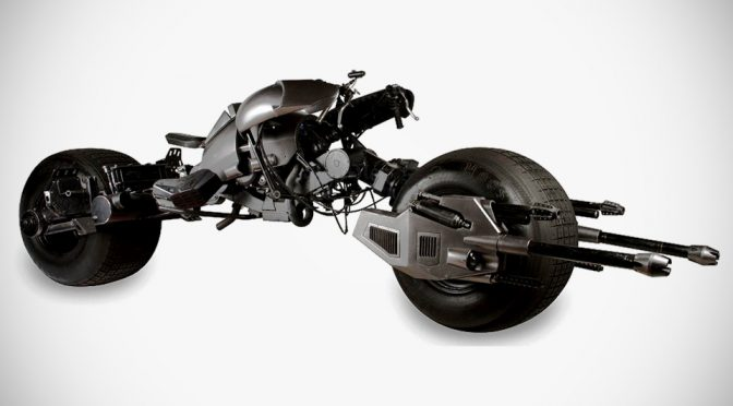 Batpod From <em>The Dark Knight</em> Trilogy Is Set To Go Under The Hammer