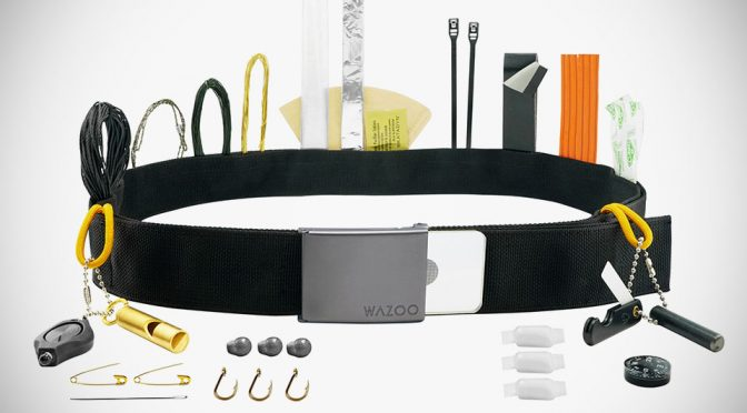 Cache Belt by Wazoo Survival Gear