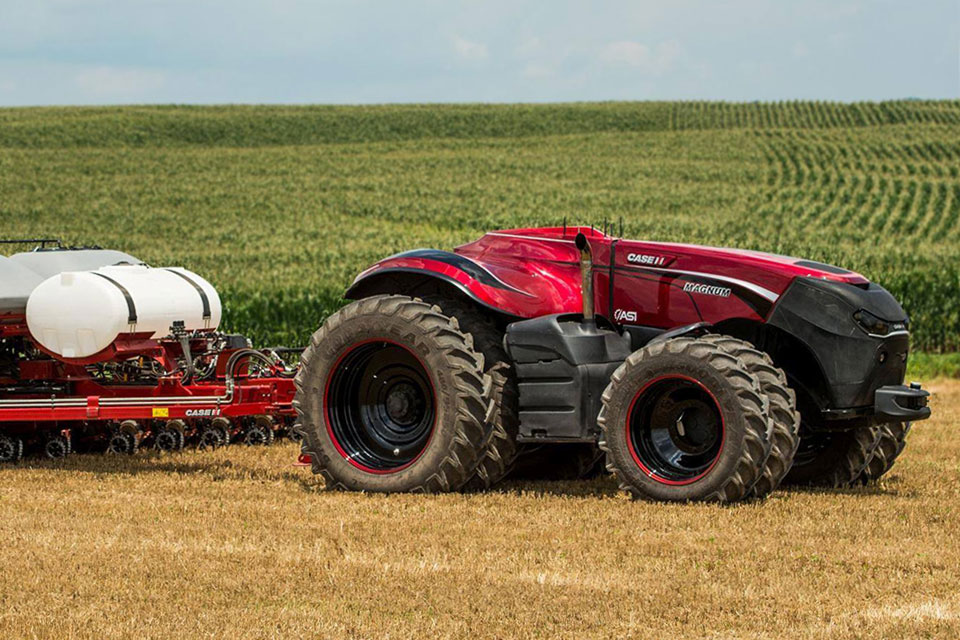 Case Ih Autonomous Farming Tractor Concept Is The Future