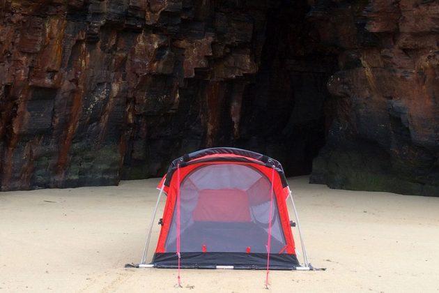 Crua Hybrid Tent and Hammock Hybrid