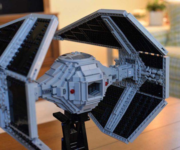 Custom LEGO UCS Tie Interceptor by jazzbass junior