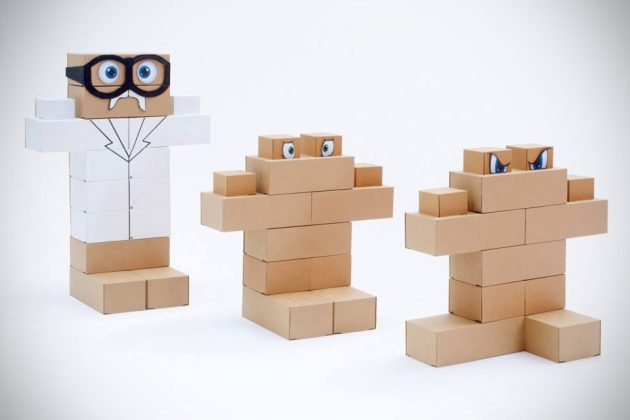 Edo Life-sized Cardboard Toy Bricks