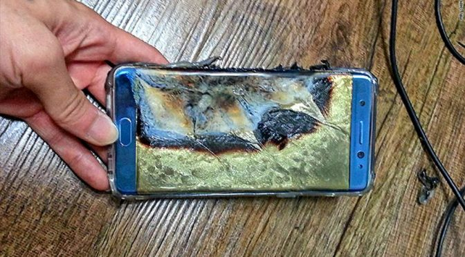 Exploding Galaxy Note7 Battery Results In Worldwide Recall