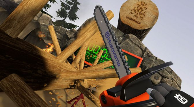 Husqvarna Limberjack VR Chainsaw Game