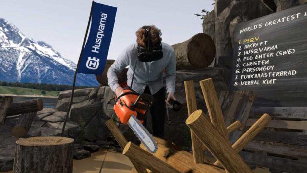 Husqvarna Limberjack VR Chainsaw Game