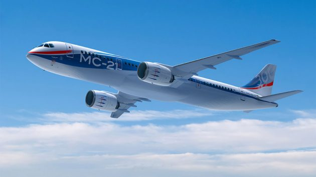 Irkut Corporation MC-21 Medium-haul Commercial Jet