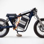 Leafy Savage Electric Motorcycle Is Juiced By Nissan Leaf's Batteries