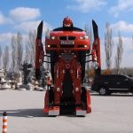 Turkey Company Turned A BMW Into A Real-life, Transforming <em>Transformers</em>