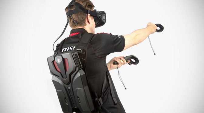 MSI Usher The Era Of Virtual Reality With Lighter And Slimmer Backpack PC