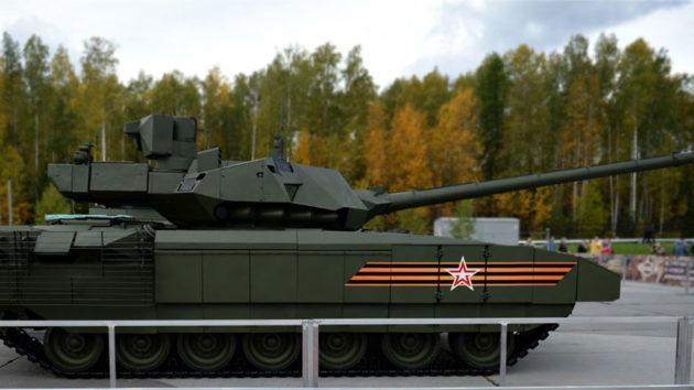 Russia T14 Armata Tank by UralVagonZavod