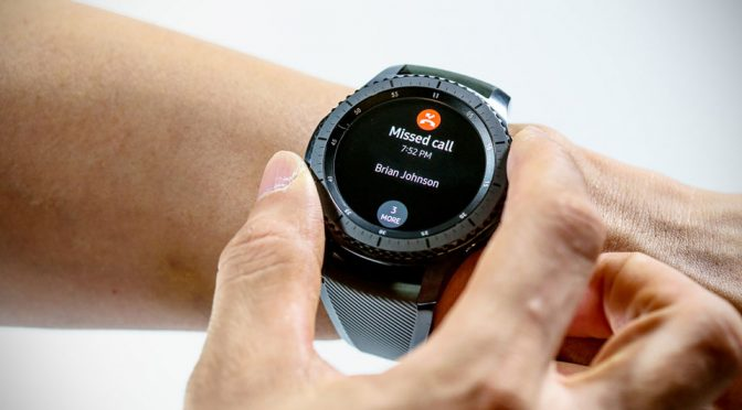 Samsung's New Gear S3 Smartwatch Inches Closer To Being A Real Watch