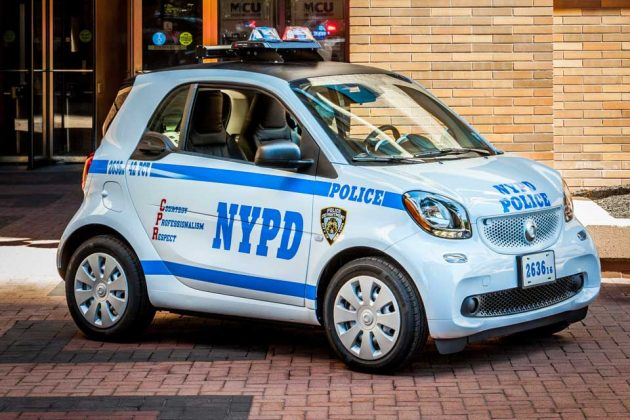 Smart Fortwo for NYC Police Department