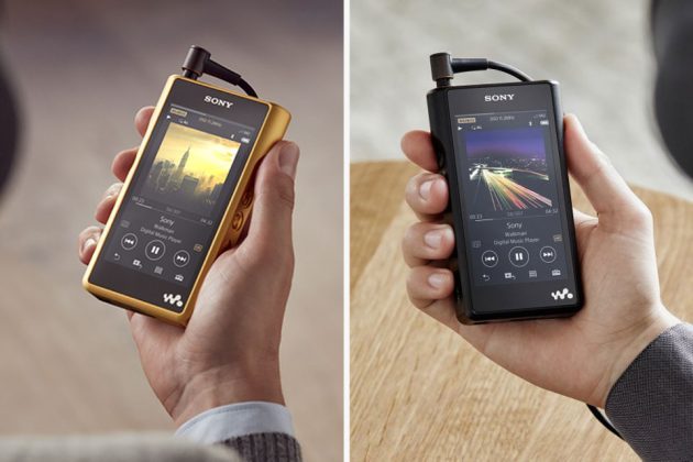 Sony NW-WM1Z and NW-WM1A Signature Series Walkman Players