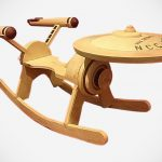 <em>Star Trek</em> Enterprise Rocker Lets Kids Rock Where No Kids Has Rock Before