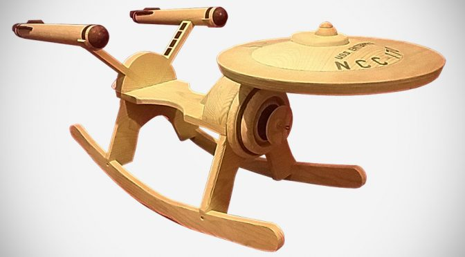Star Trek Enterprise Rocker For Kids