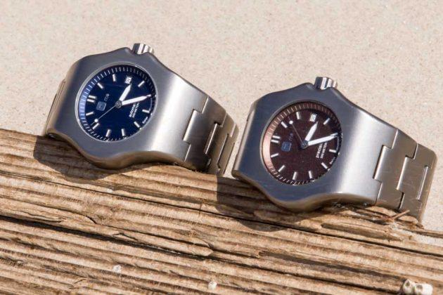 TiMe22 Robusto Titanium Wrist Watch