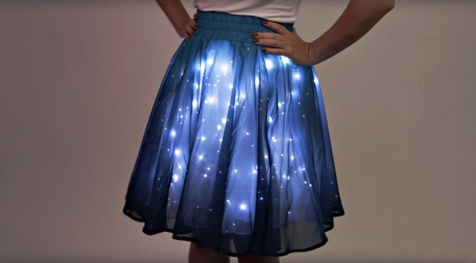 Twinkling Stars Skirt Has The 'Bling' To Turn Heads Without Diamonds