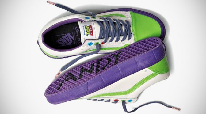 Vans and Disney Pixar Teamed Up For <em>Toy Story</em>-themed Sneakers