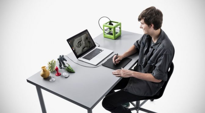 Wacom Addresses Front End Of 3D Printing With Affordable 3D Pen