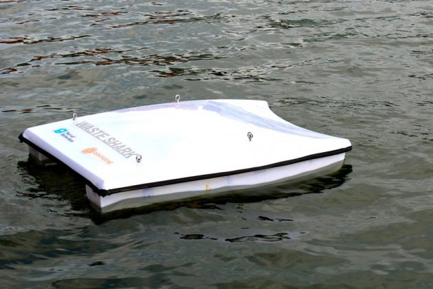 Waste Sharks Seaborne Garbage Collecting Drone