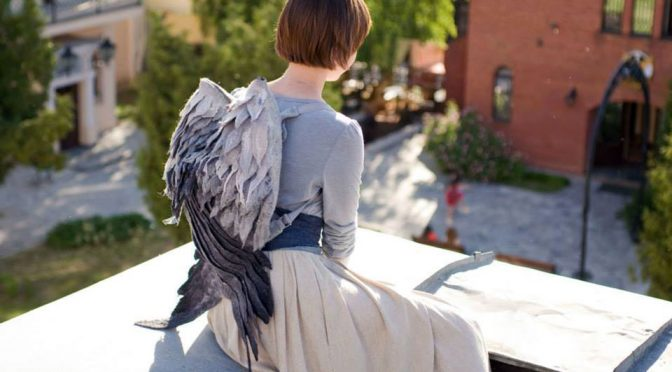 Winged Backpack Puts Wings On Your Back, Turns You Into An Angel