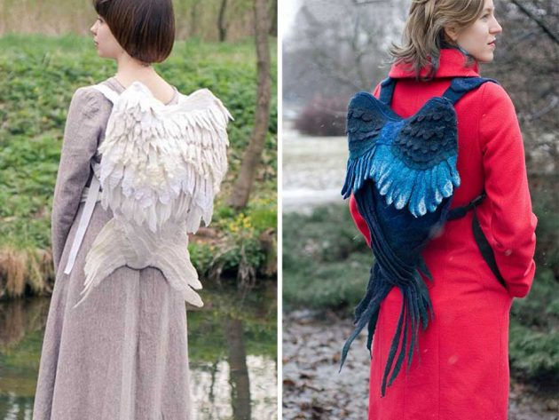 Winged Backpack by Orange Cat Minsk