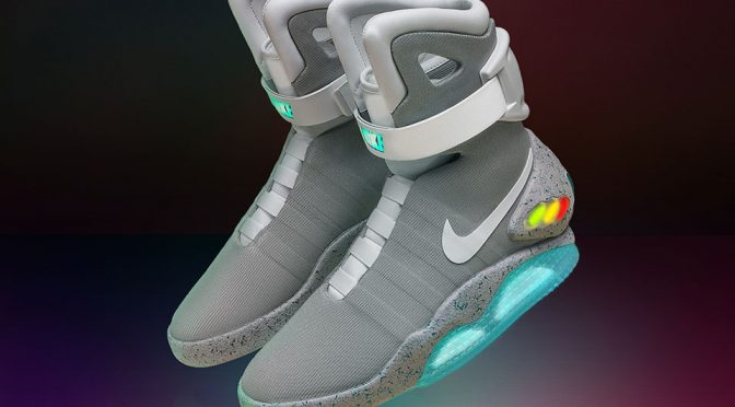 2016 Nike Mag Self-lacing Sneakers