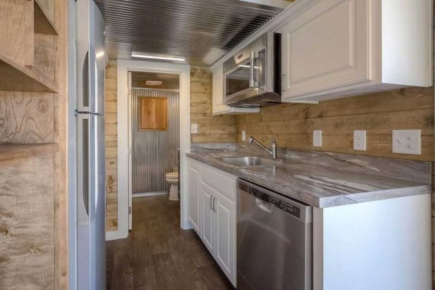 40-foot Container Home with Front Porch