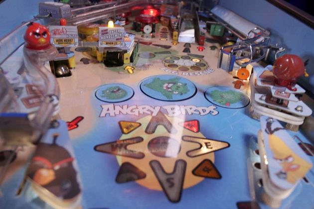 Angry Birds Pinball Machine Super Fan Builds