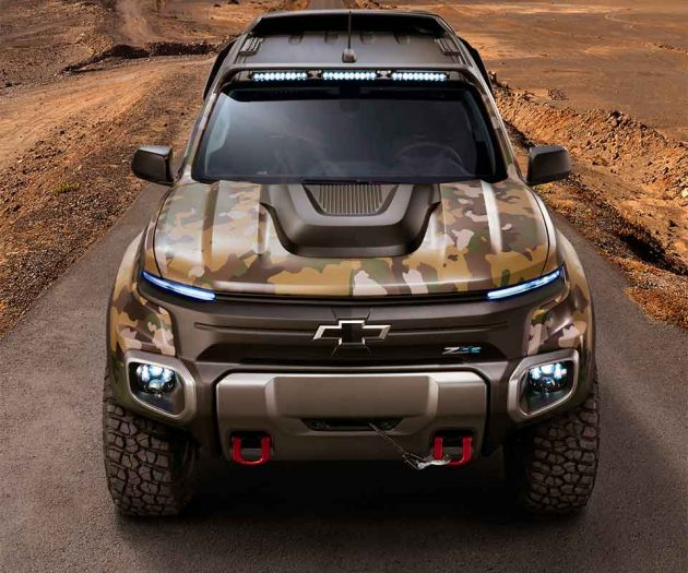 Colorado Zh2: GM's Chevy Fuel-cell Off-roader For U.S. Army Looks Like A