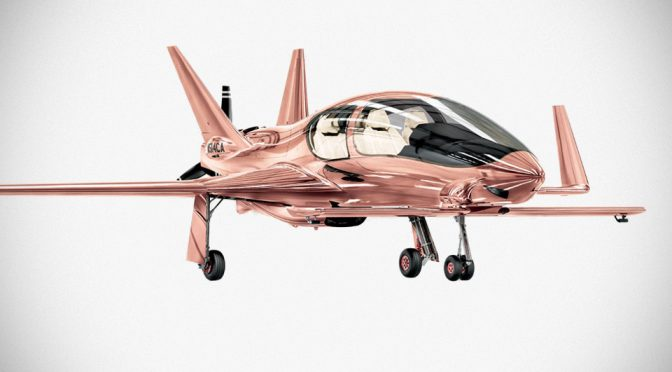 Neiman Marcus's Fantasy Gifts Offer Cobalt Private Plane In Rose Gold