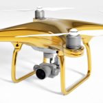 For £20K, You Can Fly Gold With the DJI Phantom 4 Gold Edition