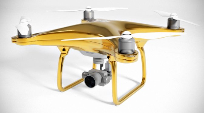DJI Phantom 4 Gold Edition Imaging Drone