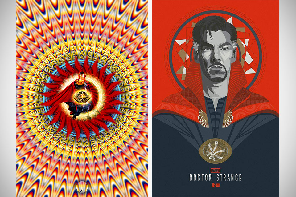 These Doctor Strange Tribute Posters Are Freaking Awesome