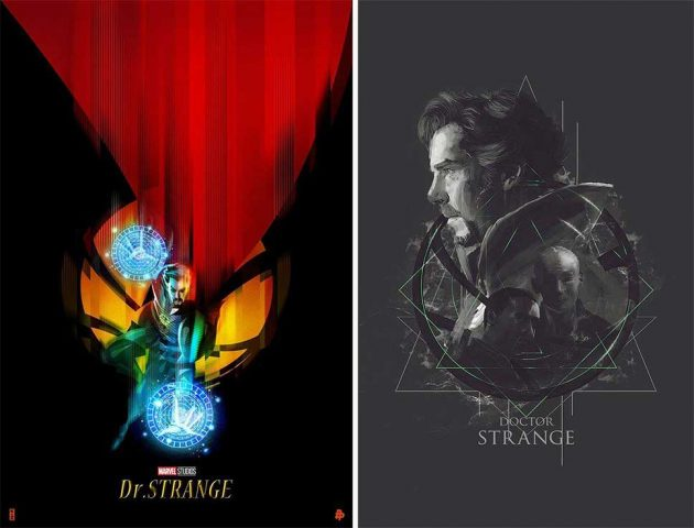 Doctor Strange Tribute Posters by Poster Posse