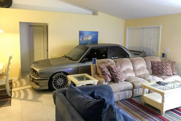 E30 BMW M3 In Living Room
