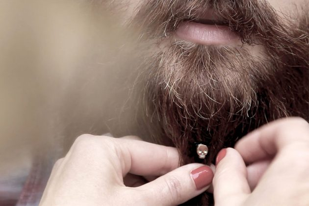 First Ever Beard Jewelry by Krato Milano