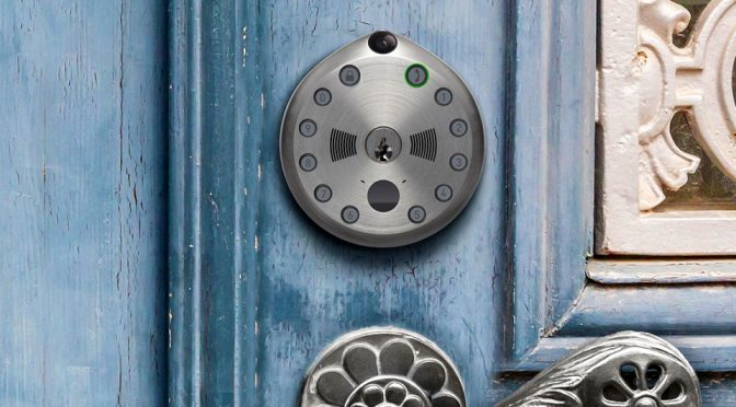 Gate All-In-One Connected Smart Lock