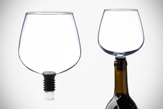 Guzzle Buddy Wine Glass-Stopper